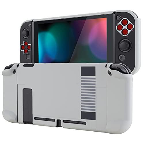 eXtremeRate PlayVital Cover Custodia Protettiva per Switch Joycon Console Copertura Rigida Case Separabile per NS Switch(NES Classico)