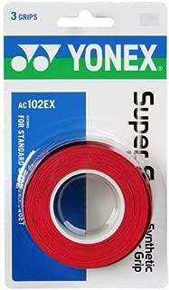 Yonex Overgrip Super GRAP 3 Pack - Tennis, Badminton, Squash - Choice of Colors