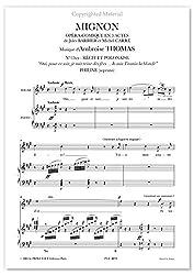 Thomas, Ambroise • MIGNON •