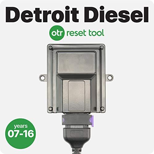 Detroit Diesel | OTR Reset Tool | Forced DPF Regen | Reset Faults, Soot Level Very High, and Ash Accumulator | DD13 DD15 DD16 | 2007-2016