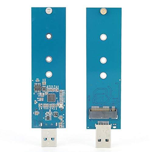Socobeta Unidad de Estado sólido compacta USB3.0 M.2 a USB3.0 Práctico Proceso de precisión Duradero Tarjeta Vertical ampliamente Utilizada Interfaz M.2 Intercambio en Caliente para computadora
