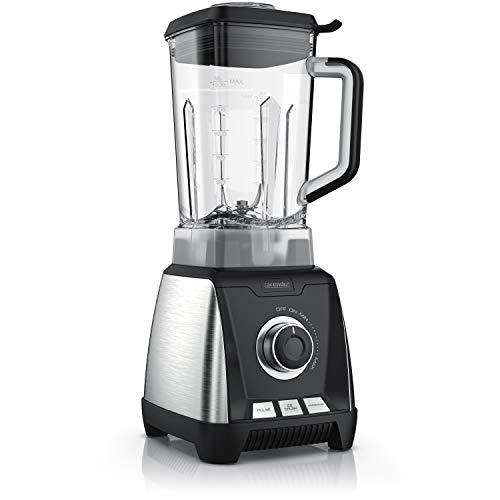 Arendo - Standmixer 30.000 U/min – Hochleistungsmixer - Smoothie Maker - Mixbehälter 1,5 Liter aus Tritan BPA frei - 6 SUS301 Klingen aus Edelstahl - 3 Modi – für Säfte Smoothies Cocktails Shakes