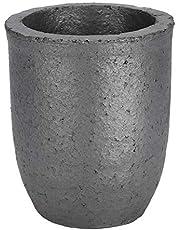 TMISHION Wysoka czystość stopiony grafitowy tygiel do narzędzi, 8 kg do odlewania złota i srebra narzędzia wysokotemperaturowe