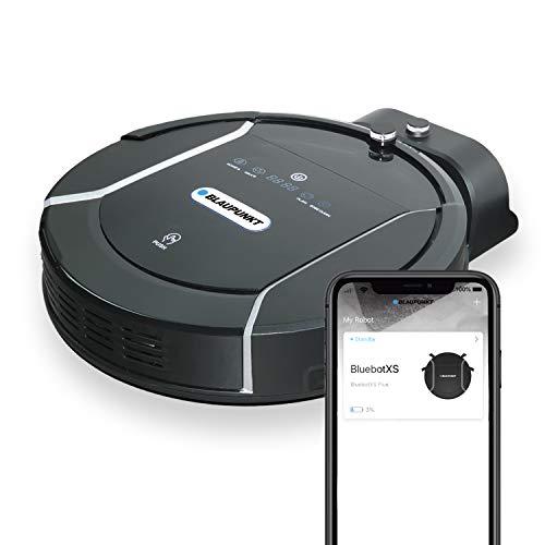 Blaupunkt Bluebot XSMART Saugrobotor mit Wischfunktion und App-Steuerung, 35W, 180 m2 Reichweite, 0,5L Staubbehälter mit HEPA-Filter (Amazon Alexa kompatibel)