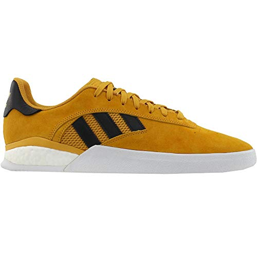 adidas x Miles Silvas 3ST.004 (Tactile Yellow/Core Black/Gold Metallic) Men's Skate Shoes-11