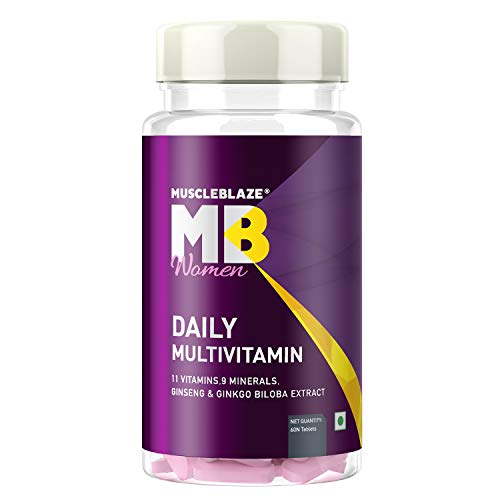 MuscleBlaze Daily Multivitamin for Women -11...