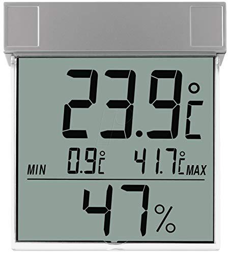 TFA-Dostmann 30.5020 / Thermomètre-hygromètre pour fenêtre électronique