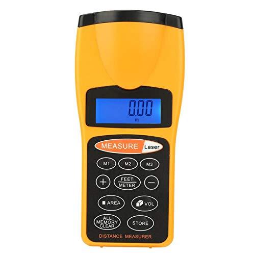 Indicador de medición Apagado manual automático Almacenamiento de datos Puntero de medidor ultrasónico de alta presión profesional con rango de hasta 18 metros para la industria