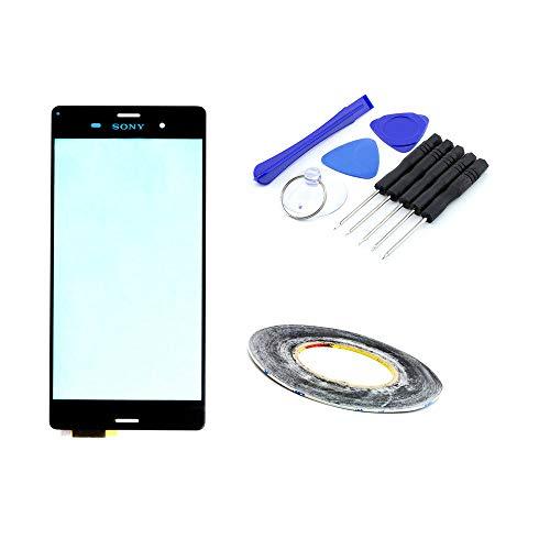 kaputt.de Front-Glas für Sony Xperia Z3 | Ersatzglas inkl. DIY Reparatur-Set