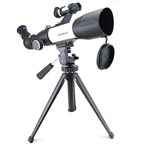 Telescopio Espacial, Vista monocular 50/350mm telescopio Potente Luna Buena Astronomía Refractor Entusiasta telescopio con trípode