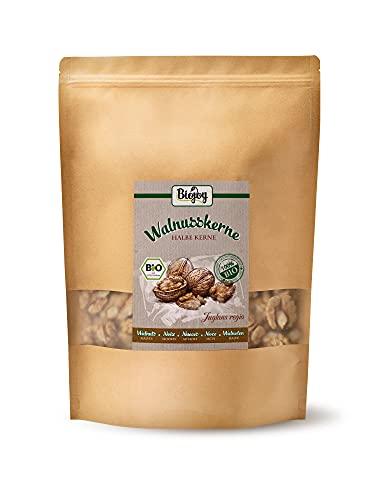 Biojoy Nueces peladas orgánicos, Juglans regia (1 kg Mitades)