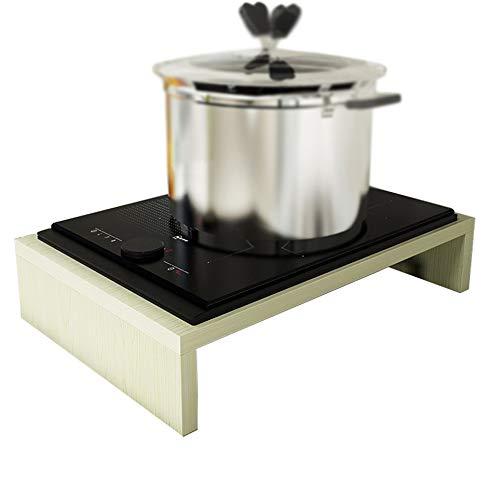 Couvercle de cuisinière à gaz Naturel, Support de cuisinière à Induction, Couverture de Plaque de Cuisson, Support d'ustensiles de Cuisine, Couleur: E