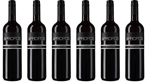 Weinwerk Apropos Cuvée Rot 2014 Trocken (6 x 0.75 l)