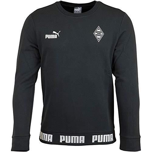 PUMA Borussia Mönchengladbach Football Culture Sweatshirt Sweater (L, schwarz)