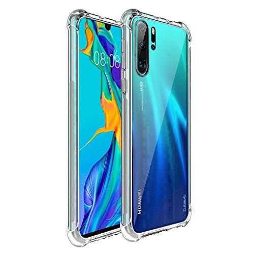 Capa Protetora Para Huawei P30 Lite 6.15 Polegadas Capinha Case Transparente Air Anti Impacto Proteção De Silicone Flexível - Danet