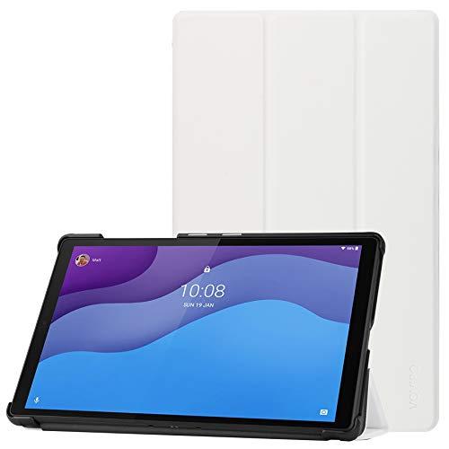 VOVIPO Funda Lenovo Tab M10 HD (2.a generación) 10.1 Tablet 2020 - Funda rígida con Soporte ultradelgado Smart Cover para Lenovo Tab M10 HD (2.a generación) 10.1 Tablet 2020 (TB-X306F.TB-X306X)
