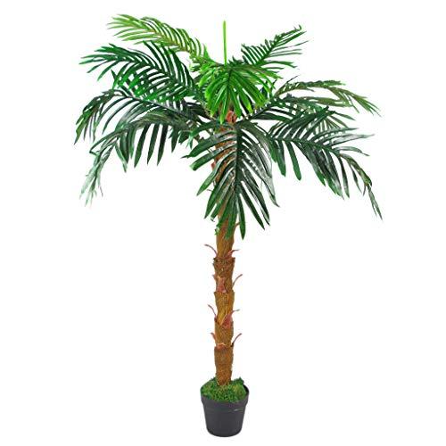 Leaf Künstlicher Stamm aus Palme, 130 cm, Braun