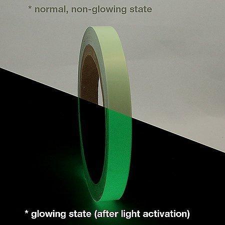 Signageshop Glow In The Dark Safety Tape 1 Inch X 10 Ft Night Glow Vinyl