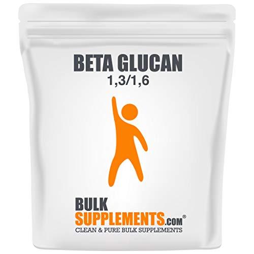 BulkSupplements.com Beta Glucan (1,3/1,6) Powder - Immune Support Supplement - Mood Boosting Supplement (50 Grams)