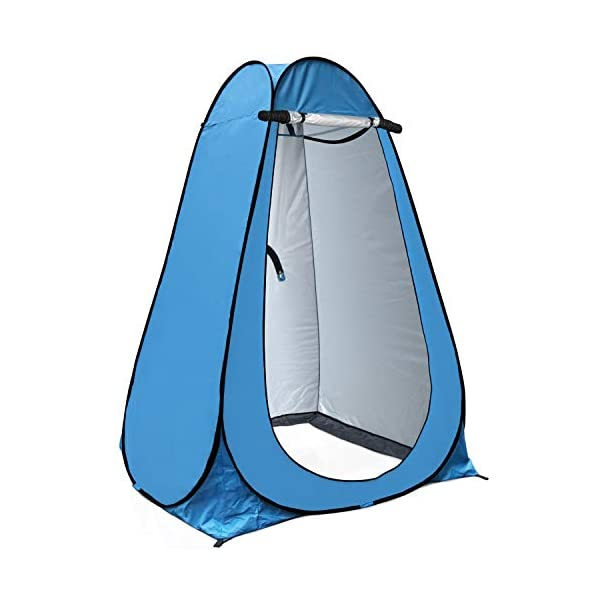 anngrowy Pop Up Privacy Tent Shower Tent Portable Outdoor Camping Bathroom Toilet Tent Changing Dressing Room Privacy…
