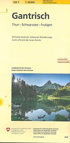 253T Gantrisch Wanderkarte: Thun - Schwarzsee - Frutigen (Wanderkarten 1:50 000)