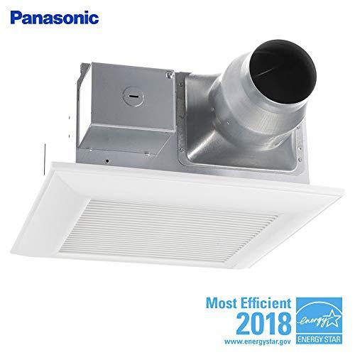 quiet bathroom fan with light