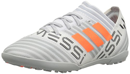adidas Boys' Nemeziz Messi Tango 17.3 TF J Soccer Shoe, White/Solar Orange/Black, 11 Medium US Little Kid