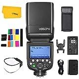 Godox Ving V860III-S V860IIIS Flash, 2.4G HSS Wireless Transmission HSS 1/8000s, High Performance Li-Ion Battery Speedlight TTL Camera Flash Compatible for Sony DSLR Camera