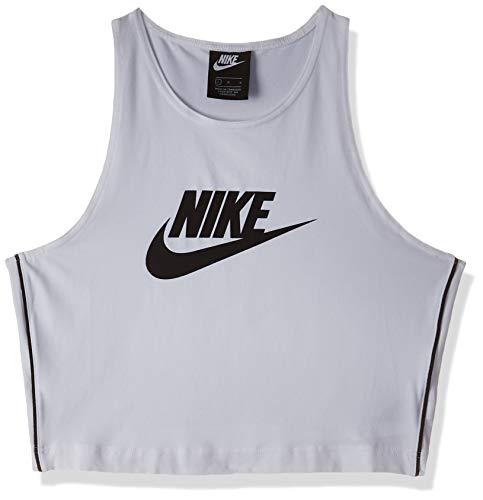 NIKE W NSW Hrtg Tank - Camiseta sin Mangas Mujer