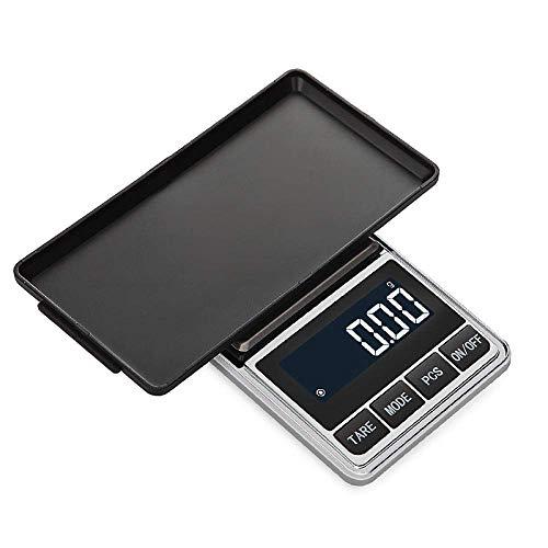 GPWDSN Báscula Digital accuweight, Báscula Digital de Bolsillo Mini precisión 0.01G /0.1G Básculas Digitales de Bolsillo para joyería de Oro Bijoux Balance de Peso Gramo Básculas electrónicas