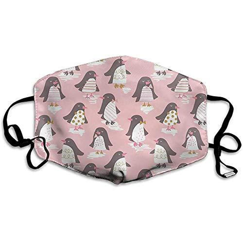 Staubmaske, weicher Cartoon-Pinguin-Masken-Abdeckungsmund für Erwachsene und Jugendliche