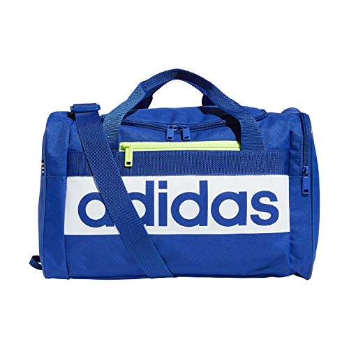 adidas Unisex's 5150785 Court Lite Duffel Bag, Royal Blue/White/Green, One size