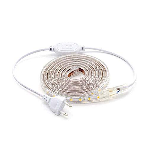 KIT Tira LED 220V SMD5050 EPISTAR, 60LED/m, RGB, 2 metros, RGB