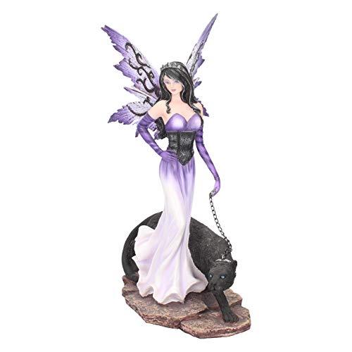 Nemesis Now - Statuetta Panthea, 22,5 cm, colore: Viola