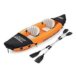 Bestway 8321401 Flotador Kayak Semirigido 330 x 94 cm. 2 Personas MAX. 160 Kg. con Remos, Multicolor 6