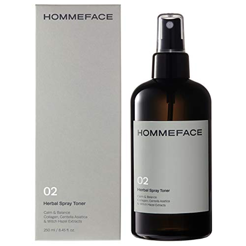 HOMMEFACE Herbal Spray Face Toner for Men, Alcohol-Free
