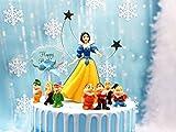 Toppers para Tartas,Caricatura Cake Topper Cumpleaños Topper de Tarta Decoración Suministros Princes...