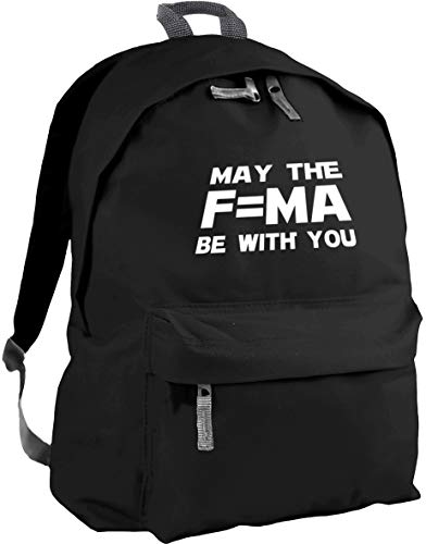 HippoWarehouse May The F=MA Be with You Backpack ruck Sack Dimensions: 31 x 42 x 21 cm Capacity: 18 litres