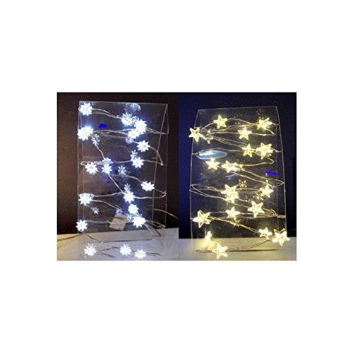 AC-Déco Guirlande intérieur - 20 LED - Etoiles
