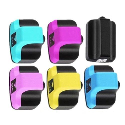 6X Cartuchos Tinta Compatible para HP 363 XL/Colores 45/18ml T95