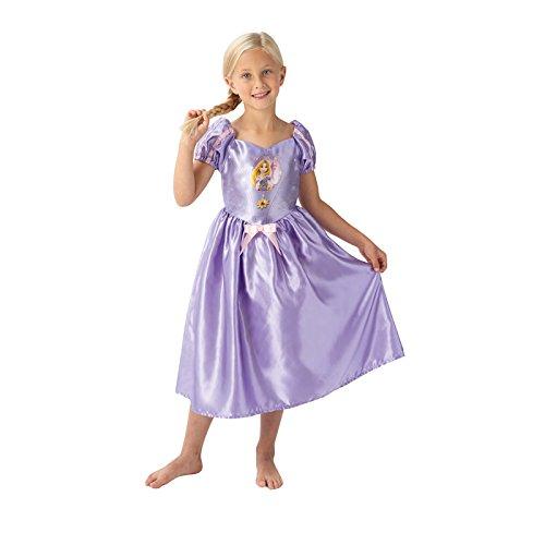 Rubie's- Costume Rapunzel per Bambini, Multicolore, M, IT620645-M