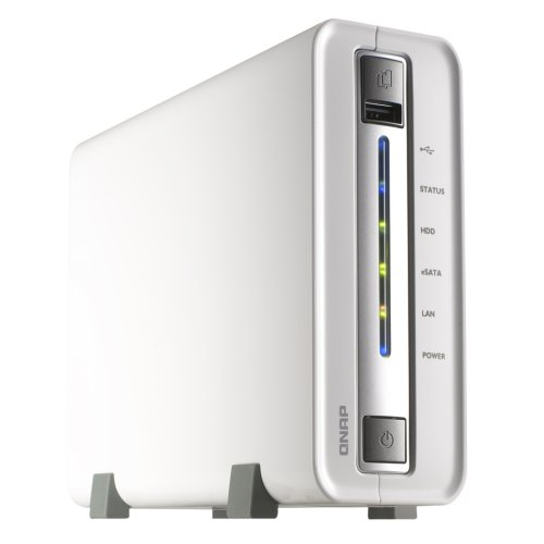 Qnap TS-112/4TB-SEA NAS-Server 4TB (Marvell 628, 1,2GHz, 256MB DDR2-Speicher, 1-Bay, 8,9 cm (3,5 Zoll)/6,4 cm (2,5 Zoll), 3x USB 2.0)