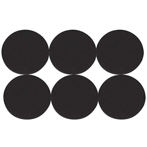 LTWHOME Compatible Activé Carboné Filtration Tapis Convient pour Eheim Classic 2215/350 2628150 (Paquet de 6)