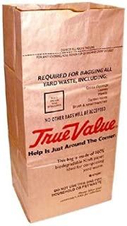 Ampac SOS-30T True Value 30 Gallon Paper Lawn and Leaf Bag, 5 Count