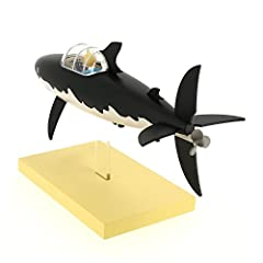 Moulinsart Resin Figure The Submarine Shark - Icons Collection, Adults, Unisex, Black, One Size #5