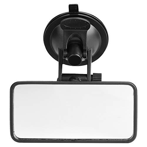 Specchietto retrovisore bambini,Delaman Regolabile Interno Auto Specchietto Vetro Monitor Seggiolino Sicurezza con Aspirazione