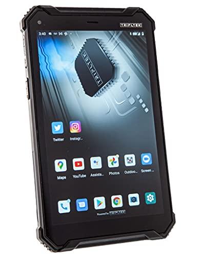 TRIPLTEK 8' PRO (4G LTE, 256GB) Ultra Bright 1200 nits, 8GB RAM, Android 10, Long Battery Life...
