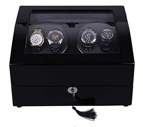 Estuches y Cajas para Relojes Caja enrolladora Doble para Relojes Caja enrolladora automática para Relojes Caja enrolladora para Relojes con batería Caja oscilante para Relojes Mecánica de Madera