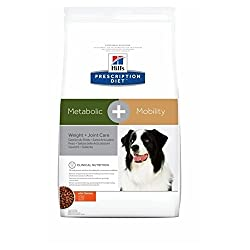 Croquettes for dogs that combine overweight problems and osteoarthritis problems. Hill's Prescription Diet Canine Metabolic + Mobility is a specially formulated food for supporting joint metabolism in the event of osteoarthritis, overweight/obese adu...