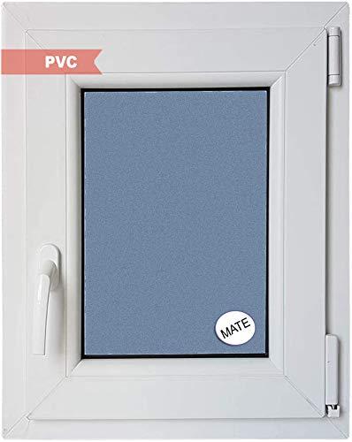 Ventana PVC Practicable Oscilobatiente Derecha 500 ancho x 700 alto 1 hoja con vidrio Carglass (Climalit Mate)